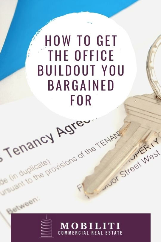 How to Get the Office Buildout You Bargained For